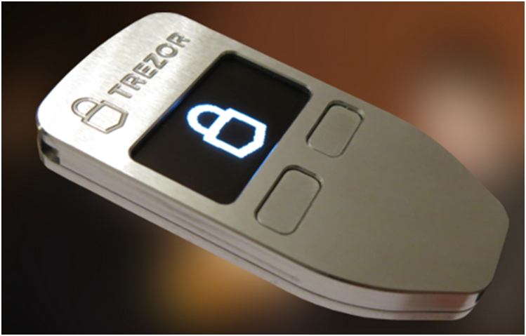 how to put cryptocurrency on trezor